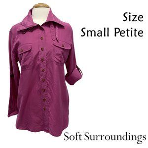 Soft Surroundings Size Small Petite Buckle Collar